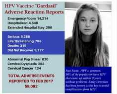 hpv vaccine side effects cdc