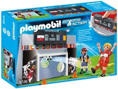 Playmobil Sports & Action 4726 Soccer Shoot Out: Amazon.co.uk: Toys & Games
