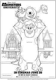 Image Result For Monsters Inc Para Colorear Monster Páginas Para