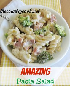 The Country Cook: Amazing Pasta Salad