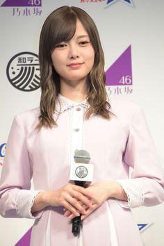 白石麻衣 Pretty Asian Girl, White Stone, Pose Reference, Feminine, Poses, Pure Products, Blouse, Coat, Beauty