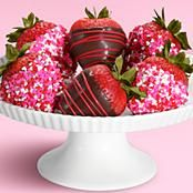 """These are the best chocolate covered strawberries I've ever had! """"Shari's Berries"""" To. Die. For."""
