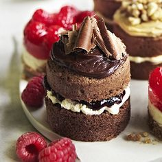 Mini Black Forest Sandwiches