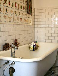 Love this fun bathroom.