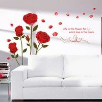 HOT!Fashion design! High quality!100% brand new! A beautiful wall art wall decal for your home or of