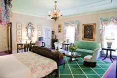 Vanderbilt Suite, The Grand Hotel, Mackinac Island, Michigan