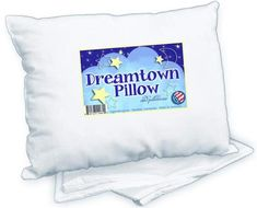 Dreamtown Kids Toddler Pillow with Pillowcase White. Made in USA Dreamtown Kids Toddler Pillow with Pillowcase White. Made in USA. Baby Pillows, Kids Pillows, White Pillows, Toddler Pillowcase, Toddler Bed, Toddler Stuff, Kid Stuff, American Baby, Nursery Bedding