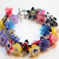 Chunky Turquoise Bracelet | AllFreeJewelryMaking.com