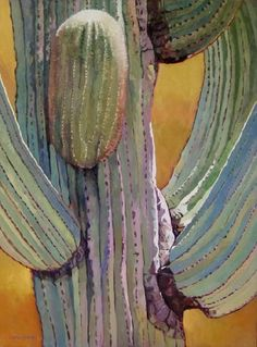 Up in Arms – Adele Earnshaw Cactus Painting, Watercolor Cactus, Cactus Art, Watercolor Paintings, Watercolors, Cactus Plants, Watercolor Succulents, Cactus Decor, Cactus Flower