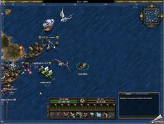 On approche d'un raid - http://fr.bigpoint.com/seafight/