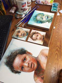 ali cavanaugh watercolor - Pesquisa Google