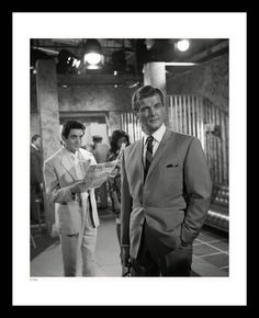 12 extremely rare photos of Sir Roger Moore on set and behind the scenes as Simon Templar. Each fine art print comes hand-framed, numbered & ready to hang. Highly Collectible, Makes a perfect gift for Roger Moore fans. Vera Day, Mid Atlantic Accent, Golden Frog, Crime Of The Century, 1960s Tv Shows, Dramatic Arts, Roger Moore, Handsome Actors, Great Memories