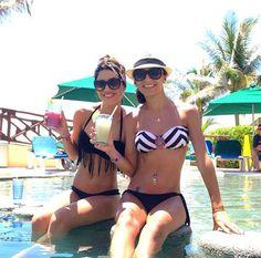 Jetss| Camila Coelho exibe barriga sequinha durante férias em Cancun