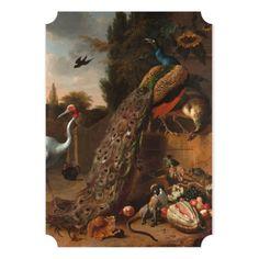Thanksgiving Dinner | Elegant 5x7 Paper Invitation Card