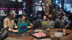 Watch Dogs 2 DedSec Hacker Characters Wallpaper