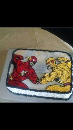 Flash Birthday Cake Kids Birthday Cakes In 2019 Flash