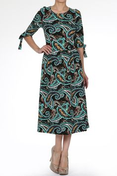 Samantha Dress in Blue | Dainty Jewell's Boutique | Modest Fashion | Ruffles Lace Weddings Bridesmaid Dresses | Modest Apparel | www.daintyjewells.com
