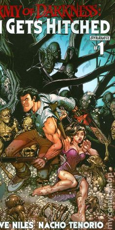 Army of Darkness Ash Gets Hitched (2014 Dynamite) 1C
