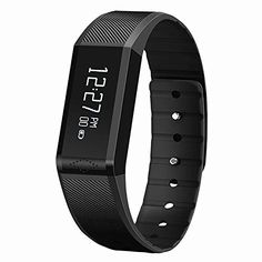 Vidonn X6 Fitness Tracker and Sleep Monitor  Track Your Calories Steps Distances and Read Messages with This Pedometer  Smart Fitness watch -- Click on the image for additional details.