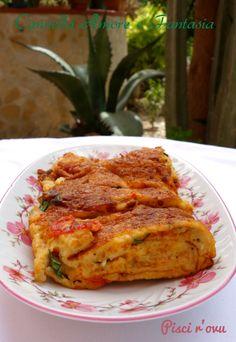 Frittata siciliana o Pisci r'ovu
