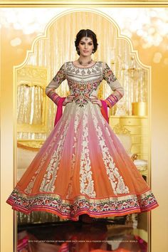 Adorable Multi Colour Georgette Floor Touch Anarkali Suit Call/Whatsapp 08968017642, 07837409851 or visit http://easyafford.com/winter-sale/184-majestic-black-red-long-pakistani-suit.html to order