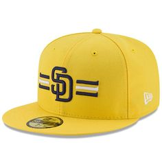 San Diego Padres New Era Youth 2017 Players Weekend 59FIFTY Fitted Hat - Yellow