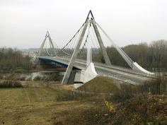 Saint-Just-Saint-Rambert Bridge over Loire River, France