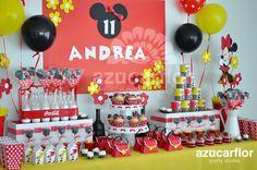 AZUCAR FLOR party studio: Minnie Mouse Clásica