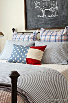 Savvy Southern Style: A Patriotic Favorite Room