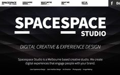 Spacespace Studio is a digital creative studio specializing in creative-driven user experience.