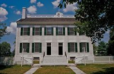 Shaker Village, Pleasant Hill in Kentucky is a restored Shaker community and living history museum. It is a MUST SEE when you visit Kentucky.
