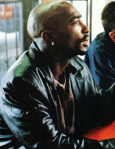 Tupac Shakur, June 1996 on the set of Gridlock'd