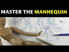 How to draw the human figure from imagination | Master the Mannequin - YouTube