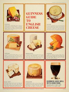 Guinness Guide To English Cheese