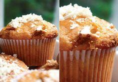Receita de Muffin de banana e chocolate branco
