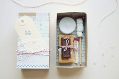 make a mini smores kit to send in the mail.