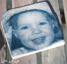DIY Photo Coasters | Lee La La