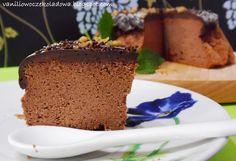 Słodko i wytrawnie. : Sufletowy sernik podwójnie czekoladowy (gluten fre...