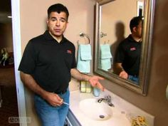 How to fix a dripping faucet. Replacing Seats & Springs in a Faucet by Delta Faucet
