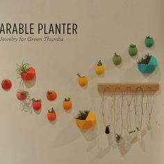 Wearable Planter Jewelry by Colleen Jordan
