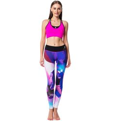 Our most unique and captivating collection design. Full length Forever Always Blur Leggings and Eternal Bra that are so comfortable you'll never want to take them off.