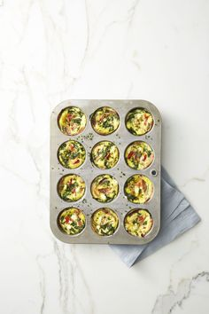 Spinach and Prosciutto Frittata Muffinsgoodhousemag