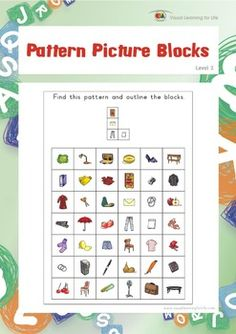 Pattern Picture Blocks