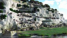 La Roque Saint Christophe - Sites troglodytiques à Peyzac le Moustier Saint Christophe, Lascaux, Monuments, La Dordogne, Destinations, Excursion, Mount Rushmore, Saints, Mountains