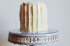A multi-layered banana and white chocolate cake by our senior food editor, Phoebe Wood is a sophisticated tilt on everyone's favourite cake.