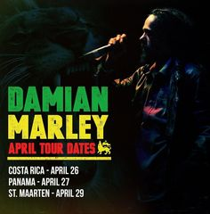 Damian Marley will be performing your favorite songs LIVE in concert this weekend.  What songs should he sing?