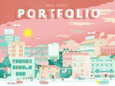 Self Promotional Work by Rafael Varona, via Behance