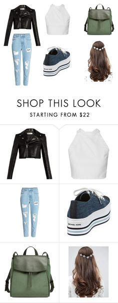 """""""Girl's Night Out"""" by lilaclovegood on Polyvore featuring Yves Saint Laurent, MICHAEL Michael Kors, Skagen and ASOS"""