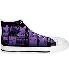 Converse Chuck Taylor High, Converse High, High Top Sneakers, Undertale Hearts, Purple City, Chuck Taylors High Top, Top Shoes, High Tops, Products