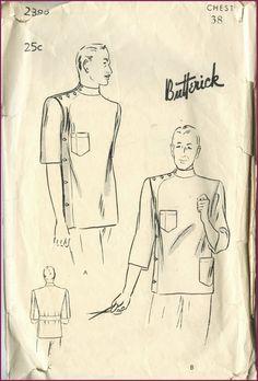 1930s lab coat